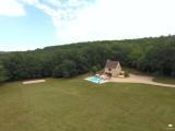 FONCHAVE - piscine privée - isolée - vallée vézère - lascaux..