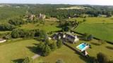 Villa beaux reves - de charme - piscine  privée - proche de sarlat (11)