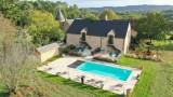 charmes de vaurizaud - maison de charme avec piscine chauffée proche de sarlat
