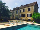 grande location - 8 pers - piscine privée - tamnies8