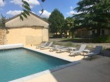 grande location - 8 pers - piscine privée - tamnies9