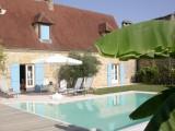 la grange d'amélie - grand gite  10 pers avec piscine chauffée -  proche sarlat
