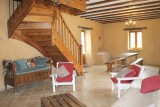 le mas fargette - grand gite 14 pers - piscine privée - tamnies (53)