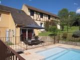 location de vacances  - les bruyeres - piscine chauffée-  a sarlat4