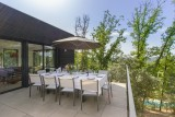 villa nakalta - piscine privée - location de charme- cazoules-Terrasse